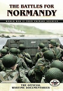 The-Battles-For-Normandy-DVD-NTSC-CD-IIVG-The-Fast-Free-Shipping
