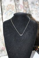 Genuine Links Of London Sterling Silver Sweetie Mini Xs Necklace 50cm - Bnib