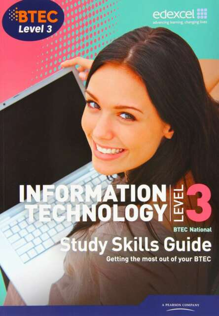 Btec Level 3 National It Study Guide, Jarvis, Alan, New condition, Book