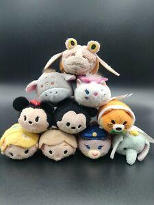 Disney Tsum Tsum Exclusive 3.5 Plush Mickey Mouse Nemo Star Wars Pooh Dumbo NWT