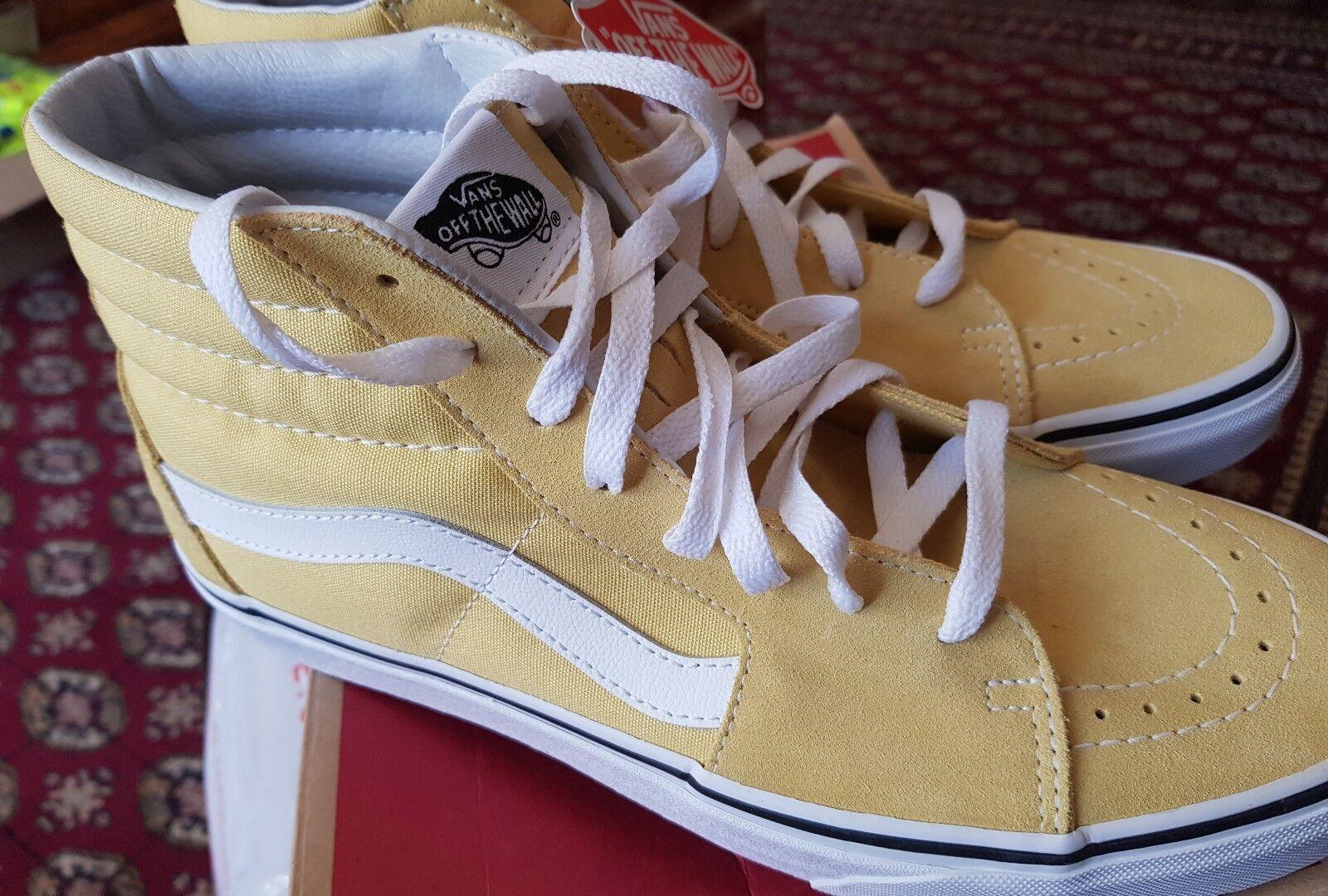 Vans Unisex Adulti'S Sk8-Hi Scarpe Da Ginnastica Giallo (Dusky Citron/True White) 9 UK