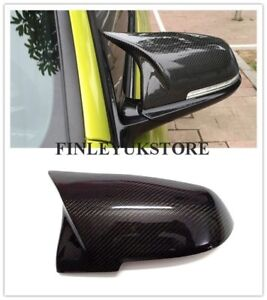 Mirror Cover M3 Style Replace Caps Carbon Fiber For BMW F20 F21 F22 F23 F30 F32
