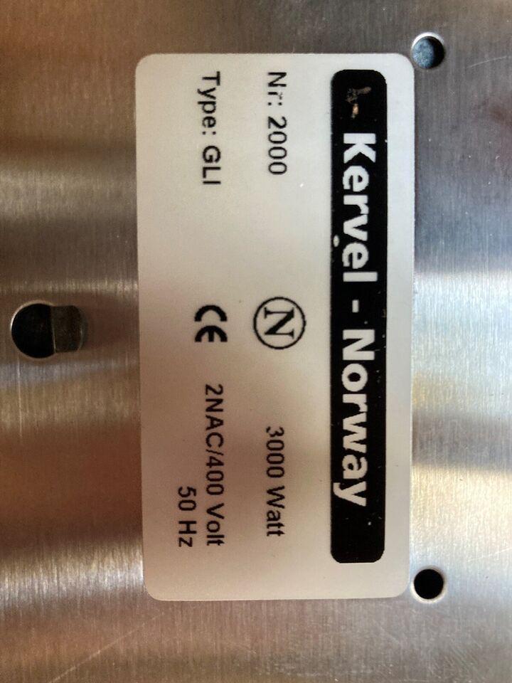 Glaskeramisk kogeplade, andet mærke, b: 28 d: 50