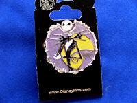 Disney Jack Skellington - Expressions Spinner On Card Villain Trading Pin