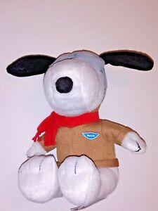 "Peanuts Snoopy Plush Metlife Aviator Pilot Airplane Red Baron Sealed New 6/"""