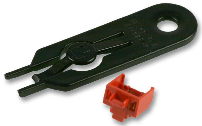 RJ45 BLOCKOUT X10 AND TOOL RED CONNECTORS ACCESSORIES - CJ54586