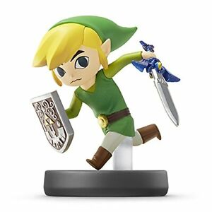 Nintendo-amiibo-TOON-LINK-Super-Smash-Bros-3DS-Wii-U-Accessories-NEW-from-Japan