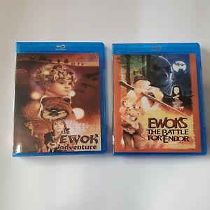 Ewok Adventures: Caravan Of Courage / Battle For Endor Blu-Ray's