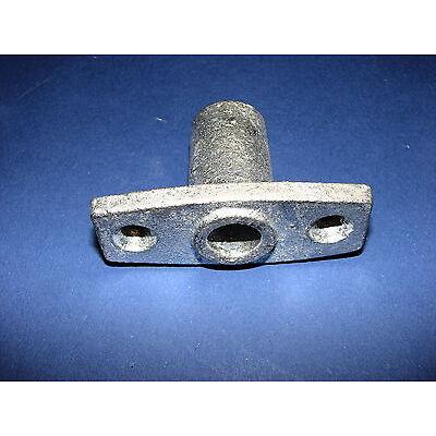 Ruderbuchse, Rudergabel oder Set Eisen verzinkt, Rudermanschette neu