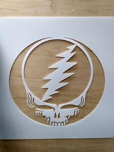 Voler votre visage Pochoir Réutilisable Airbrush Stencils Spray Paint Jerry Garcia Art