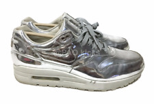 76d91680a3 ... usa item 2 nike air max 1 liquid metal silver wmns light bone 616170  090 sz