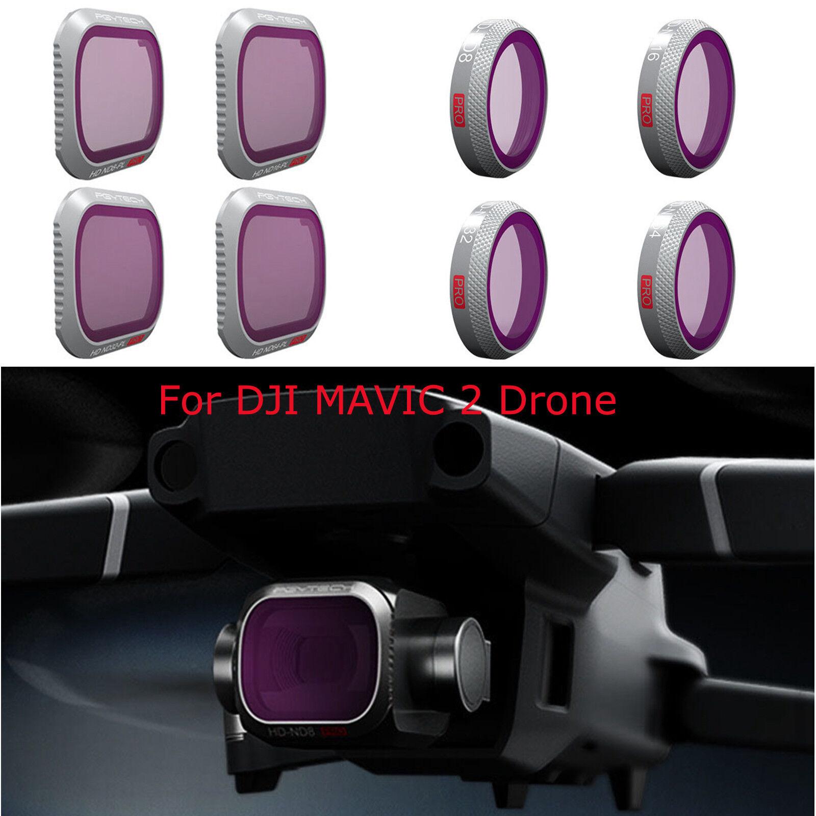 For DJI MAVIC 2 Drone Parts Accessories PGYTECH Zoom Pro Camera Lens Filters BEU