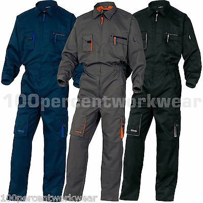 Delta Plus Panoply Work Wear Mens Overalls Boiler Suit Coveralls Mechanics M2COM
