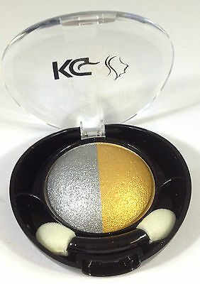 DUO COLOUR EYESHADOW BY KRAZY GIRL WITH DUO APPLICATOR *CHOOSE YOUR SHADE*