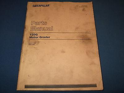Caterpillar 120 G Motor Grader Parts Book