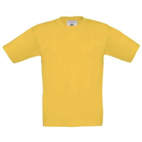 Kids Children Boy Girl B/&C Exact 190 100/% Cotton Short Sleeve T Shirt