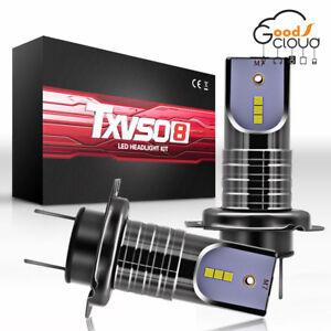 pair-H7-110W-35000LM-Car-LED-Headlight-Kits-Conversion-Canbus-Bulbs-60000K-White