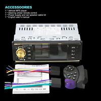"4.1"" HD 1 DIN Bluetooth Car Stereo MP5 Player Auto Video Radio AUX/FM/USB/SD/MMC"