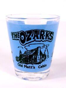 The-Ozarks-Branson-MO-Old-Matt-039-s-Cabin-Hillbilly-2-25-034-Collectible-Shot-Glass