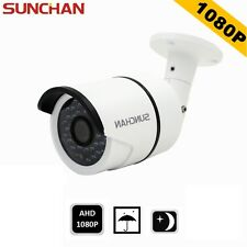 SUNCHAN 2.0Megapixel 1080P Waterproof AHD Outdoor IR CCTV Home Security Camera