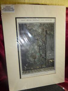 Antique-1909-W-Heath-Robinson-Hand-Coloured-ART-PRINT-Testing-Room-Hair-Restorer