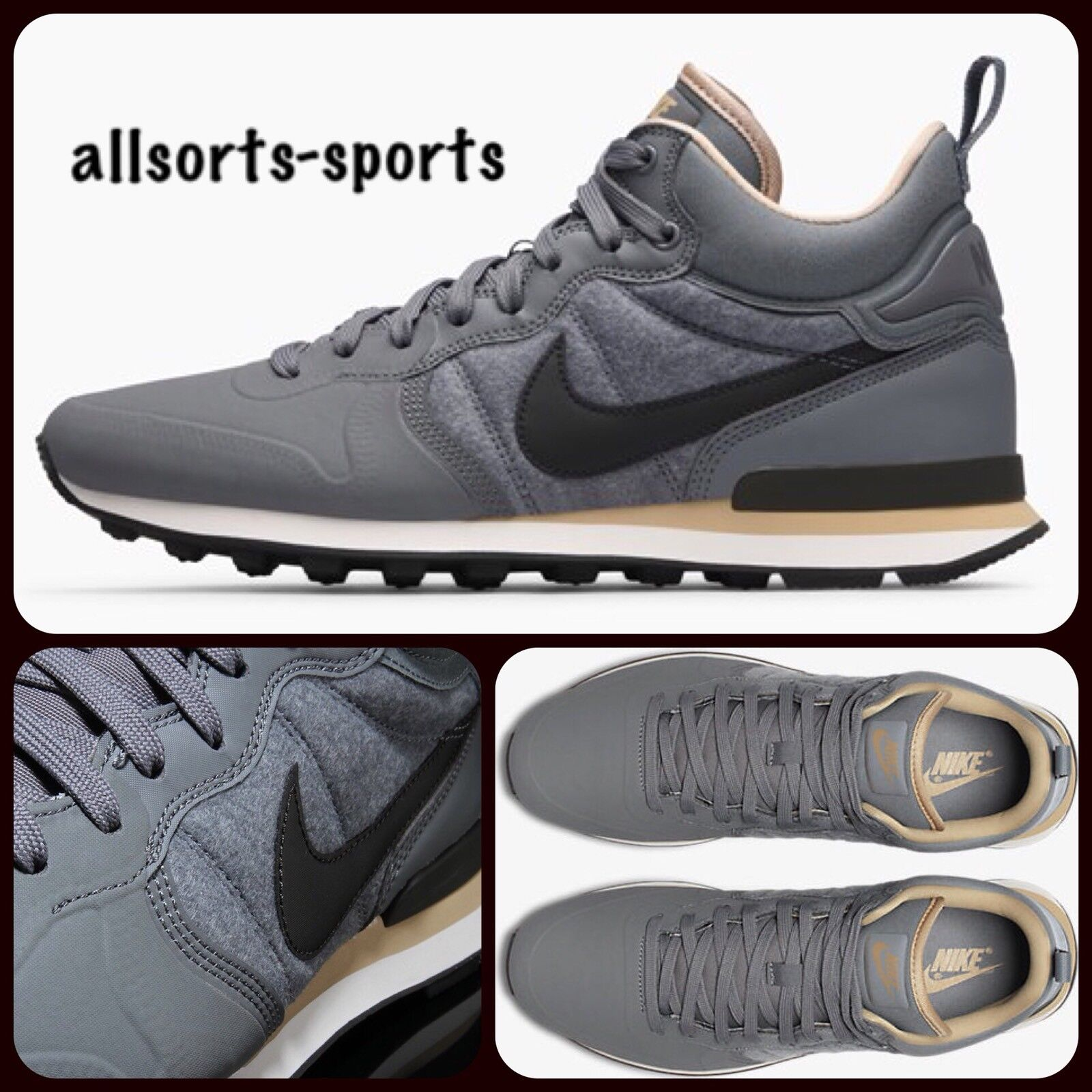 W19 Nike Internationalist 6 Utility Sneakerboot 857937-0035.5 EU 38.5 US 6 Internationalist 157ab5