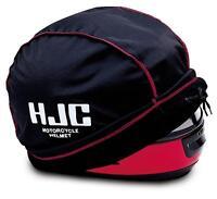 Hjc Helmet Sack Cotton / Poly Sack / Bag / Dust Cover, Black, Osfm