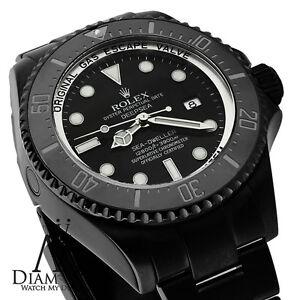 ALL-BLACK-ROLEX-44mm-Deepsea-Sea-Dweller-Ceramic-Black-Dial-116660