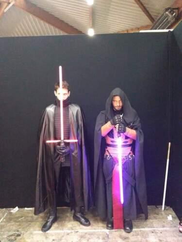 Star Wars Sith Dark Lord Darth Revan Cosplay Costume Uniform Outfit Cape Robe