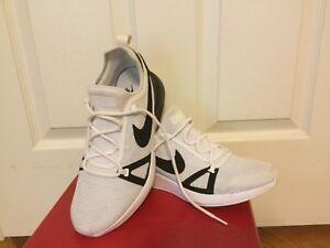 more photos 48b27 bf8dc Image is loading Nike-Duel-Racer-918228-102-White-Black-Men-