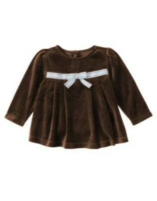 GYMBOREE GIRLS BEST FRIEND BROWN Little Sister EMBROIDERED TEE 3 6 12 24 2 3 4 5