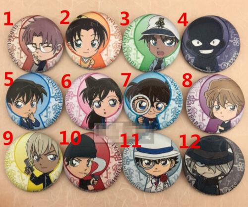 """T358   Hot Anime Detective Conan meitanteikonan badge Pin button 5.8CM 2.3/"""""""