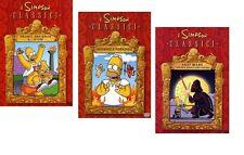 Dvd I SIMPSON - Bart Wars / Inferno e Paradiso / Pronti, partenza e... d'ho! NEW
