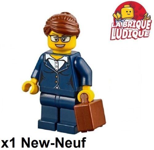 Figürchen Minifig geschäftsfrau Damen d'affaire Lego Koffer cty656 neu