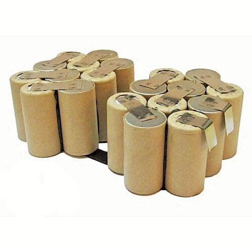 Pack batterie pour l/'auto-installation pour BERNER//DEWALT//ELU 24 V 3000 mAh Ni-MH