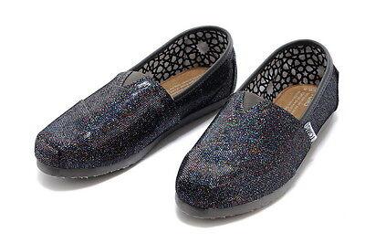 Authentic TOMS Multi Glitter Women's