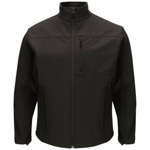 Red Kap Men/'s Deluxe Soft Shell Work Jacket Black
