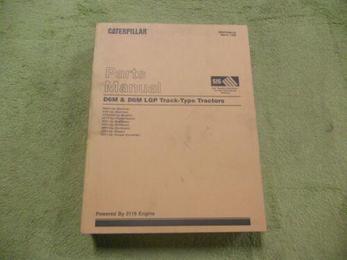 4JN1 Caterpillar D6M/&D6M LGP 3WN1 CAT Track Tractor Parts Manual Service Book