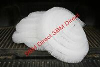 Sbm Gutter Brush - 100mm X 40m - Leaf Brush Filter - White