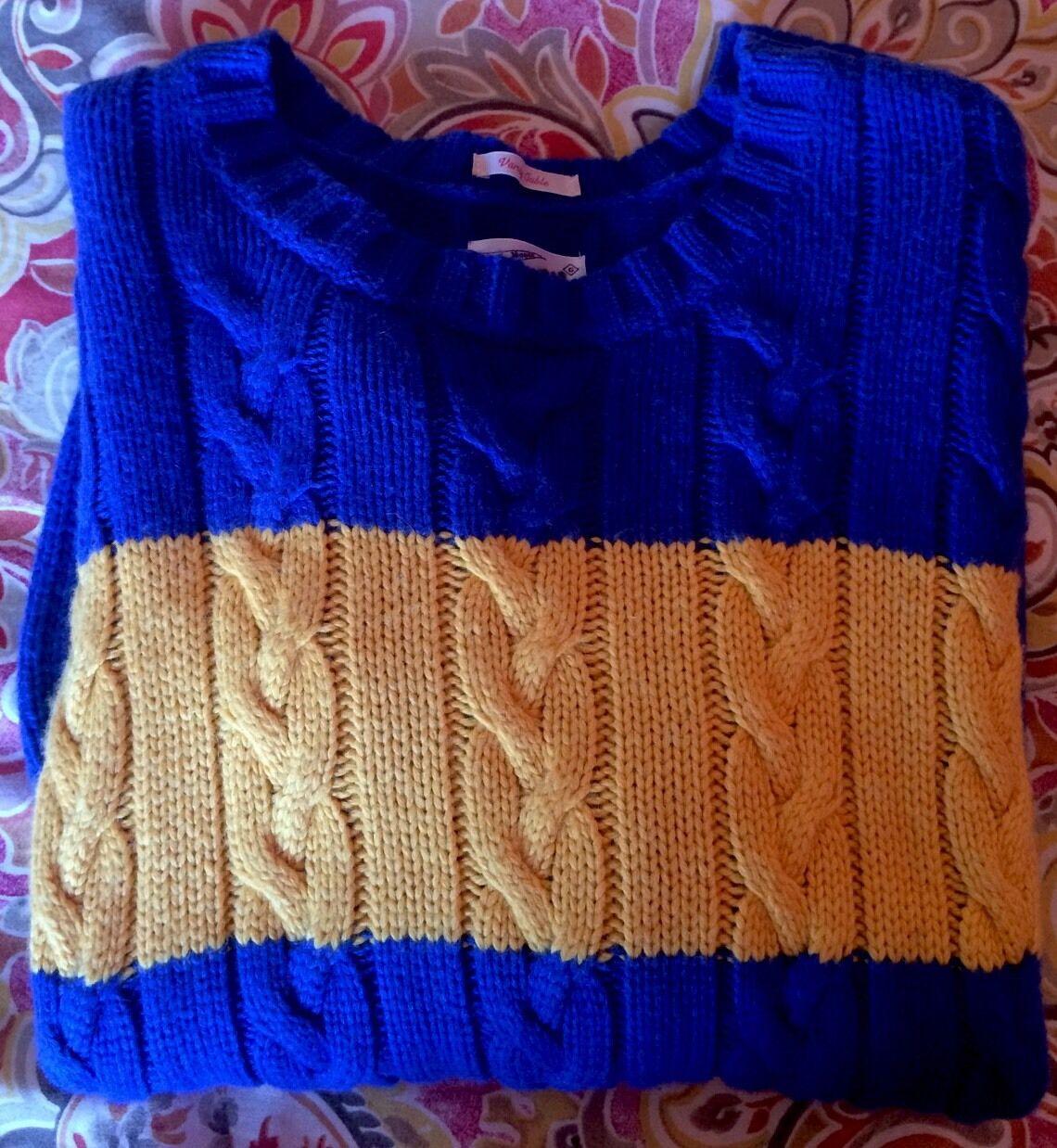 GANT  Herren Größe M Varsity Cable Sweater -New 199