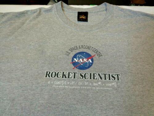 US Space & Rocket  Center Rocket Scientist Gray  T