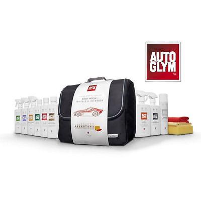 AUTOGLYM PERFECT BODYWORK WHEELS INTERIOR COLLECTION VALETING KIT CAR CARE GIFT