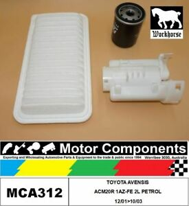 FILTER-SERVICE-KIT-FOR-TOYOTA-AVENSIS-ACM20R-1AZ-FE-2L-PETROL-12-01-gt-10-03
