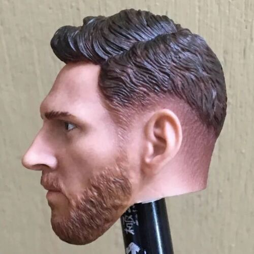 """1//6 Lionel Messi Head Sculpt Barcelona Soccer For 12/"""" PHICEN Hot Toys ❶USA❶"""