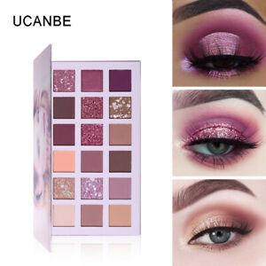 18-Color-Waterproof-Eye-Shadow-Plate-Powder-Matt-Eyeshadow-Cosmetic-Makeup-NEW