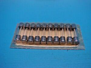 (10) SCHURTER 0034.5039 FTT GLASS FUSE CARTRIDGE 400mA 250V 5x20mm SUPER LAG
