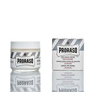 PRORASO-Pre-Shave-Cream-LINEA-BIANCA-Rasiercreme-100ml-8-25-EUR-100ml