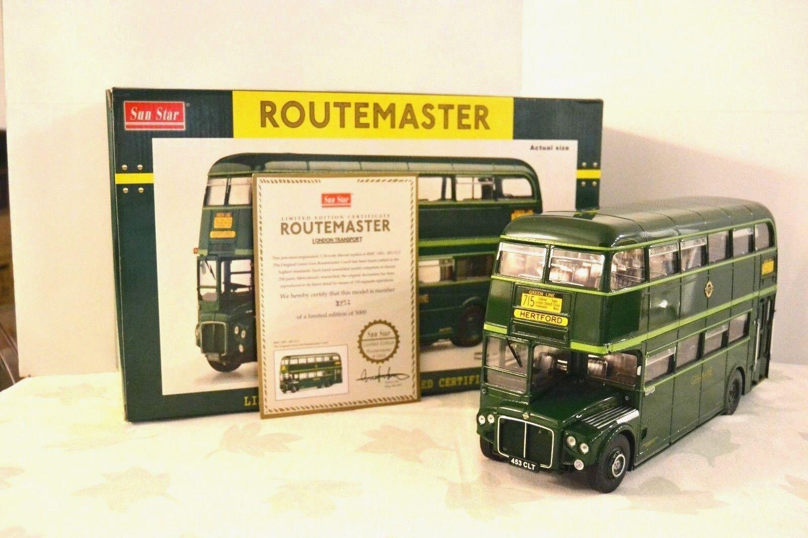 Sun Star 1 24 AEC Routemaster RMC1453-453 CLT 1965 vert Line London Réf. 2904.
