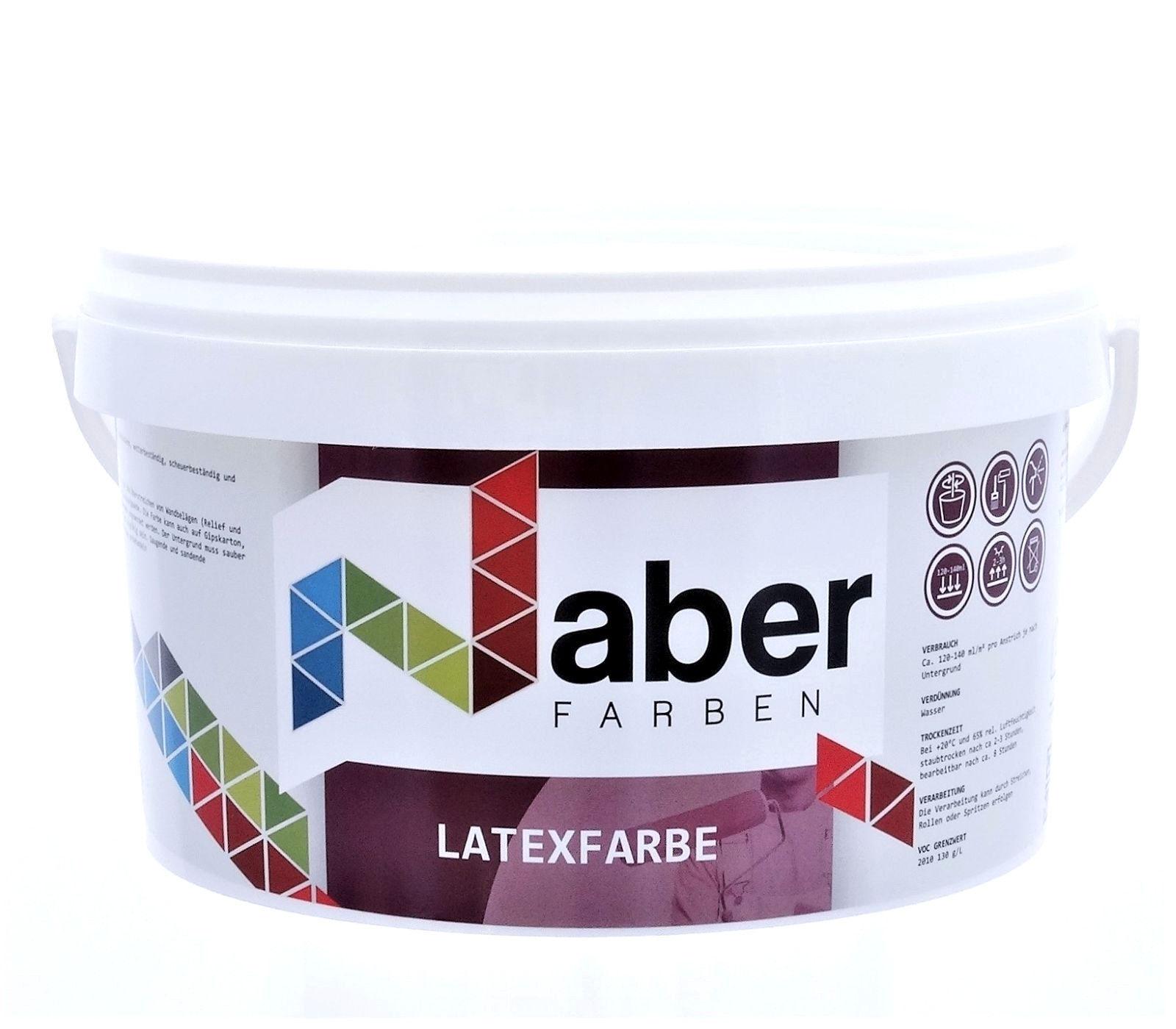 ( /L) 10 L - LATEXFARBE - RAL 1000 GRÜNBEIGE - m a t t