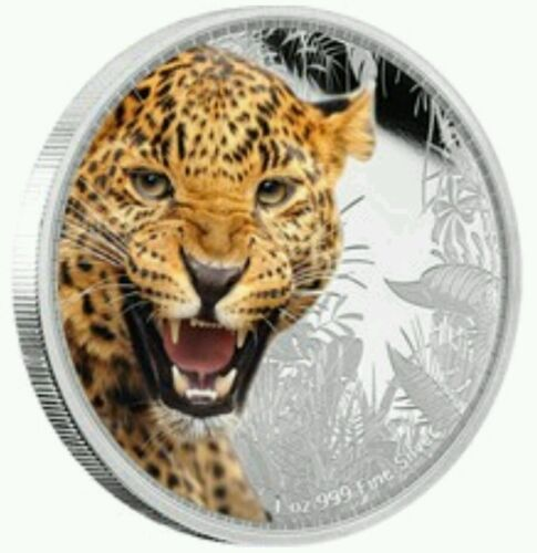 Kings Of The Continents Jaguar Silver Coin 2016 Niue 1 oz